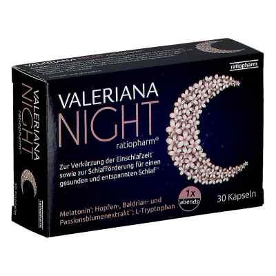 Valeriana NIGHT ratiopharm - Kapseln  bei apotheke.at bestellen