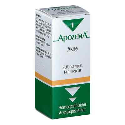 Apozema Akne Sulfur complex Nummer 1 - Tropfen  bei apotheke.at bestellen