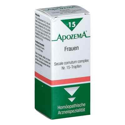 Apozema Frauen Secale cornutum complex Nummer 15 - Tropfen  bei apotheke.at bestellen