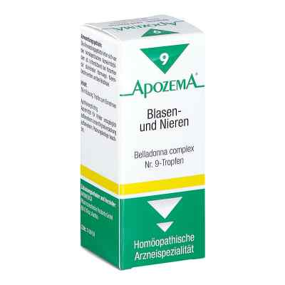 Apozema Blasen- und Nieren Belladonna complex Nummer 9 - Tropfen  bei apotheke.at bestellen