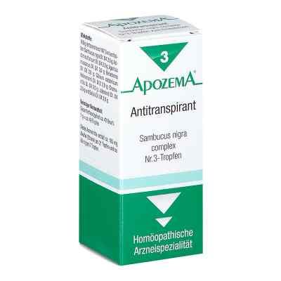 Apozema Antitranspirant Sambucus nigra complex Nummer 3 - Tropfe  bei apotheke.at bestellen