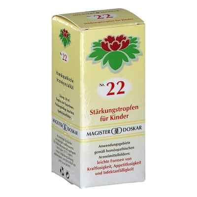 Magister Doskar Nummer 22 Stärkungstropfen für Kinder  bei apotheke.at bestellen