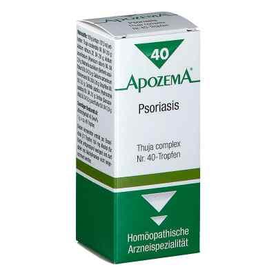 Apozema Psoriasis Thuja complex Nummer 40 - Tropfen  bei apotheke.at bestellen