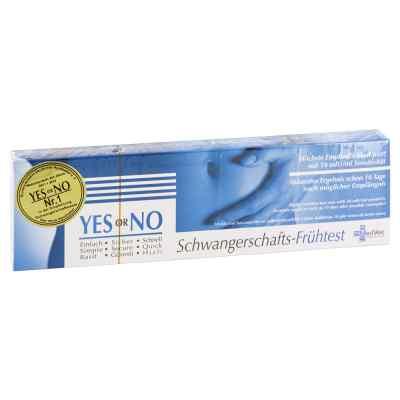 Yes Or No Hcg 10 mlU Schwangerschafts-frühtest