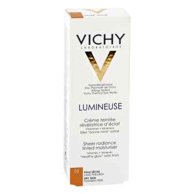Vichy Lumineuse Satinee dore für  trockene Haut Cr.  bei apotheke.at bestellen