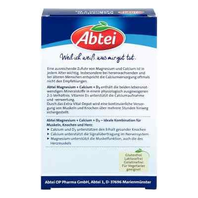 Abtei Magnesium Calcium+d3 Depot Tabletten  bei apotheke.at bestellen