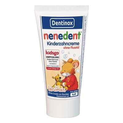 Nenedent Kinderzahncreme ohne Fluorid Standtube 50 ml von Dentinox Lenk & Schuppan KG PZN 08771777