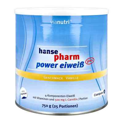 Hansepharm Power Eiweiss plus Vanille Pulver  bei apotheke.at bestellen