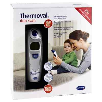 Thermoval duo scan Fieberthermometer für Ohr+Stirn