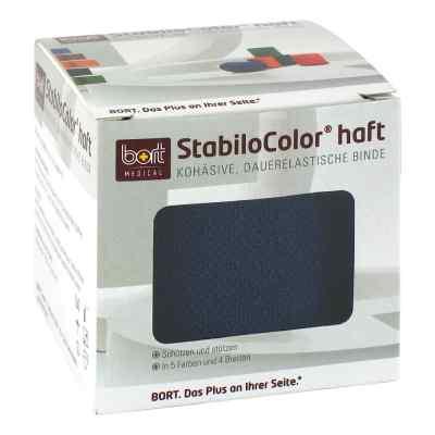 Bort Stabilocolor haft Binde 6cm blau