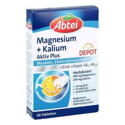Abtei Magnesium+kalium Depot Tabletten  bei apotheke.at bestellen