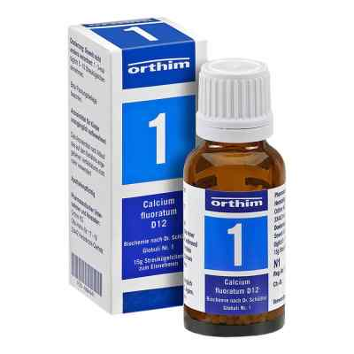 Biochemie Globuli 1 Calcium fluoratum D12  bei apotheke.at bestellen