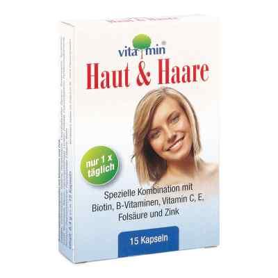 Haut + Haare Vitamin Natur Pharma Kapseln