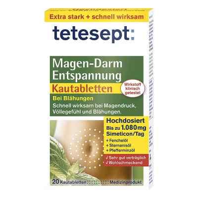 Tetesept Magen-darm Entspannung Kautabletten  bei apotheke.at bestellen
