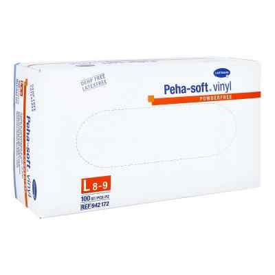 Peha Soft Vinyl Handschuhe puderfrei gross  bei apotheke.at bestellen