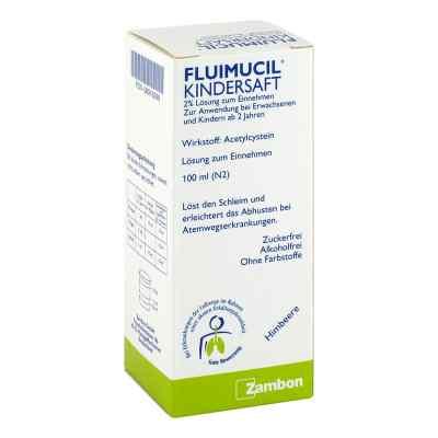 Fluimucil Kindersaft 2%  bei apotheke.at bestellen