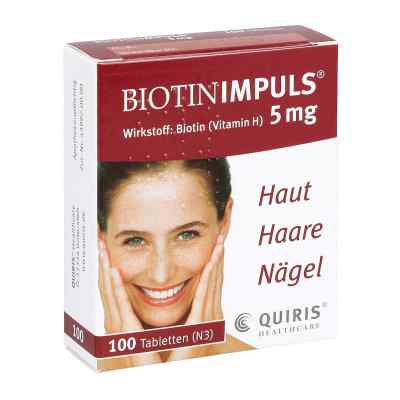 Biotin Impuls 5 mg Tabletten  bei apotheke.at bestellen