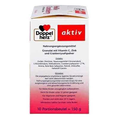 Doppelherz Heisse Cranberry mit Vitamin C +Zink Granulat  bei apotheke.at bestellen