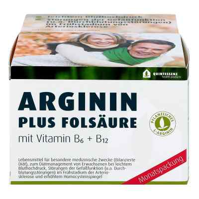 Arginin Plus Folsäure Kapseln