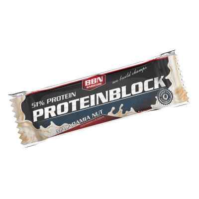 Bbn Hardcore Proteinblock Riegel Macadamia nut  bei apotheke.at bestellen