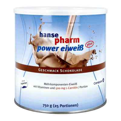 Hansepharm Power Eiweiss plus Schoko Pulver