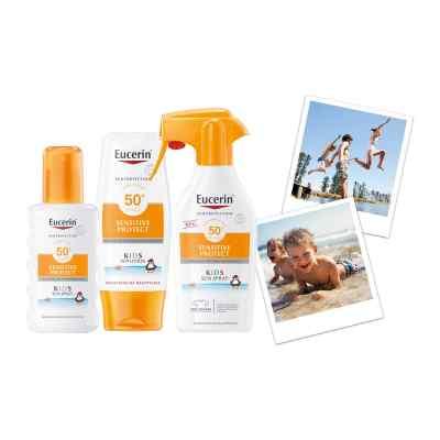 Eucerin Sun Sensitive Protect Kids Sun Spray LSF 50+  bei apotheke.at bestellen