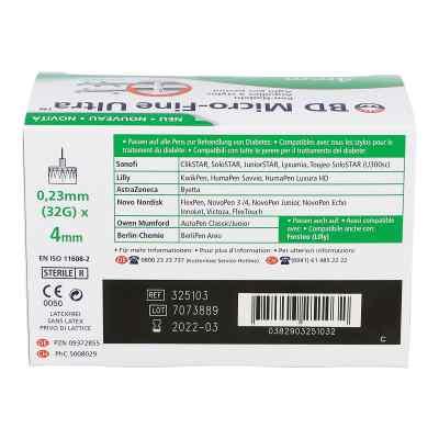 Bd Micro-fine Ultra Pen-nadeln 0,23x4 mm  bei apotheke.at bestellen