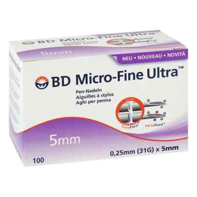 Bd Micro-fine Ultra Pen-nadeln 0,25x5 mm  bei apotheke.at bestellen