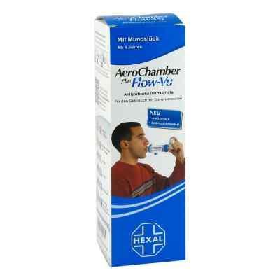 Aerochamber Hexal mit Mundstück für  Erwachsenen   und  Kinder