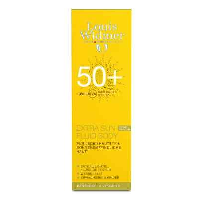Widmer Extra Sun Fluid Body 50+ unparfümiert