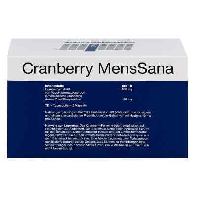 Cranberry Menssana Kapseln