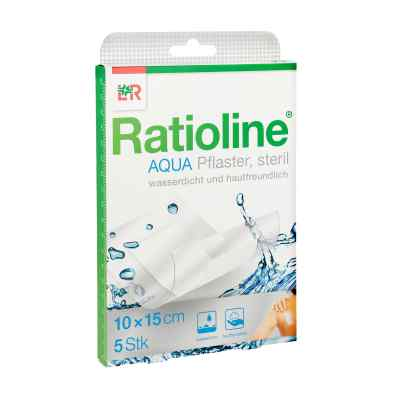 Ratioline aqua Duschpflaster Plus 10x15 cm steril  bei apotheke.at bestellen