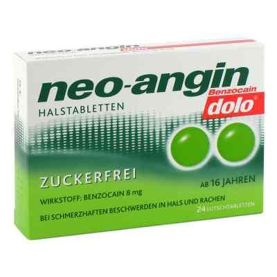 Neo-angin Benzocain dolo Halstabletten zuckerfrei