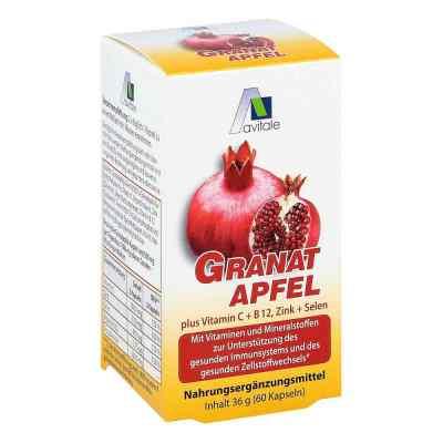 Granatapfel 500 mg plus Vitamine c + B12 + Zink + Selen