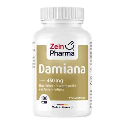 Damiana Kapseln 450 mg 5:1 Blattextrakt  bei apotheke.at bestellen