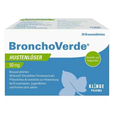 Bronchoverde Hustenlöser 50 mg Brausetabletten  bei apotheke.at bestellen
