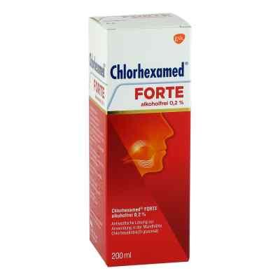 Chlorhexamed FORTE alkoholfrei 0,2%