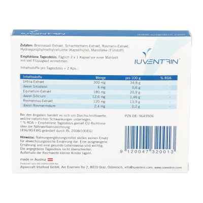 Iuventrin Potenzmittel natürl. Inhaltsstoffe Kapsel (n)