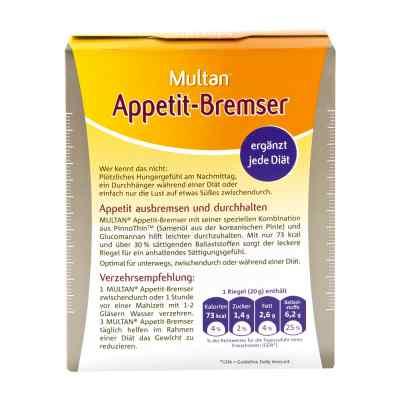 Multan Appetit-bremser Riegel  bei apotheke.at bestellen