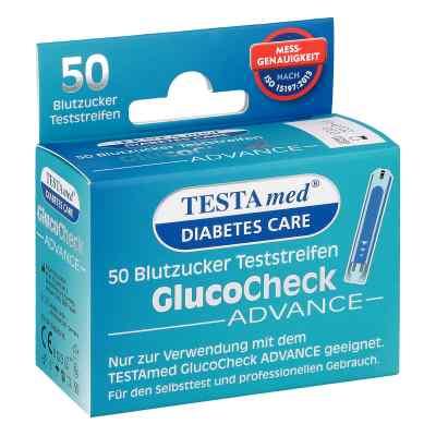 Testamed Glucocheck Advance Teststreifen