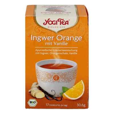 Yogi Tea Ingwer Orange+vanille Bio Filterbeutel  bei apotheke.at bestellen