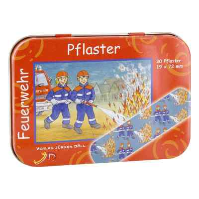 Kinderpflaster Feuerwehr Dose