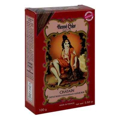 Henna Color Pulver kastanienbraun Chatain  bei apotheke.at bestellen