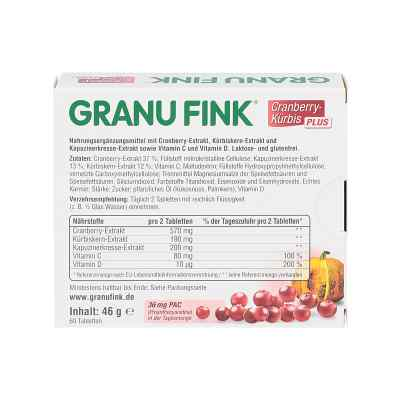 Granu Fink Cranberry-kürbis Plus Tabletten  bei apotheke.at bestellen
