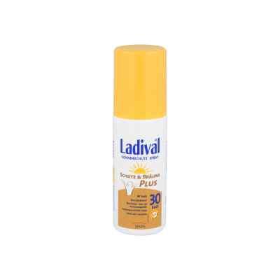 Ladival Schutz&bräune Plus Spray Lsf 30