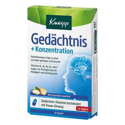 Kneipp Gedächtnis + Konzentration Kapseln  bei apotheke.at bestellen