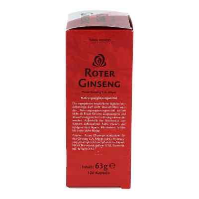 Roter Ginseng 400 mg 8% von Terra Mundo  bei apotheke.at bestellen