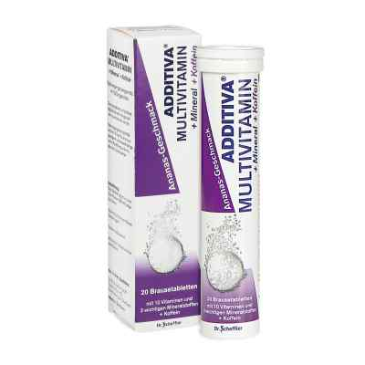 Additiva Multivit.+mineral+coff.ananas R Br.-tabl.  bei apotheke.at bestellen