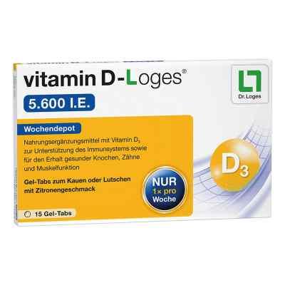 vitamin D-Loges 5.600 internationale Einheiten - Vitamin D Woche  bei apotheke.at bestellen