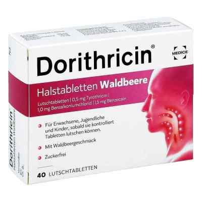 Dorithricin Halstabletten Waldbeere 0,5mg/1,0mg/1,5mg  bei apotheke.at bestellen